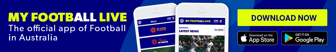 My Football Live app thin banner