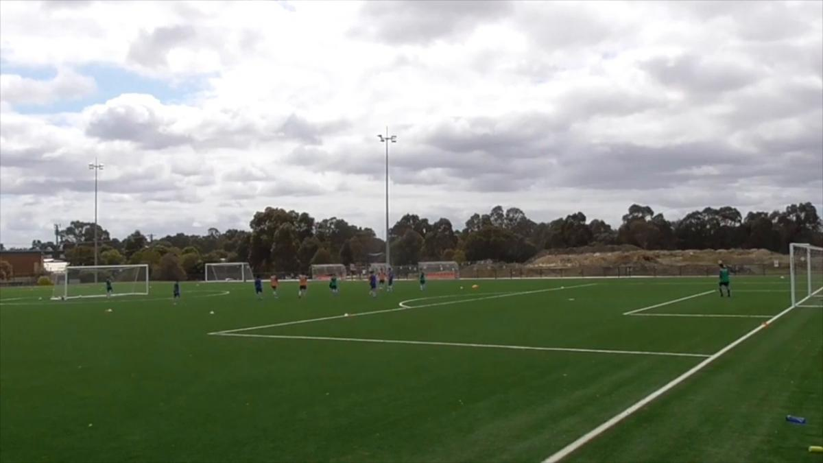 Live Session _ 1v1 Finishing Small Sided Game