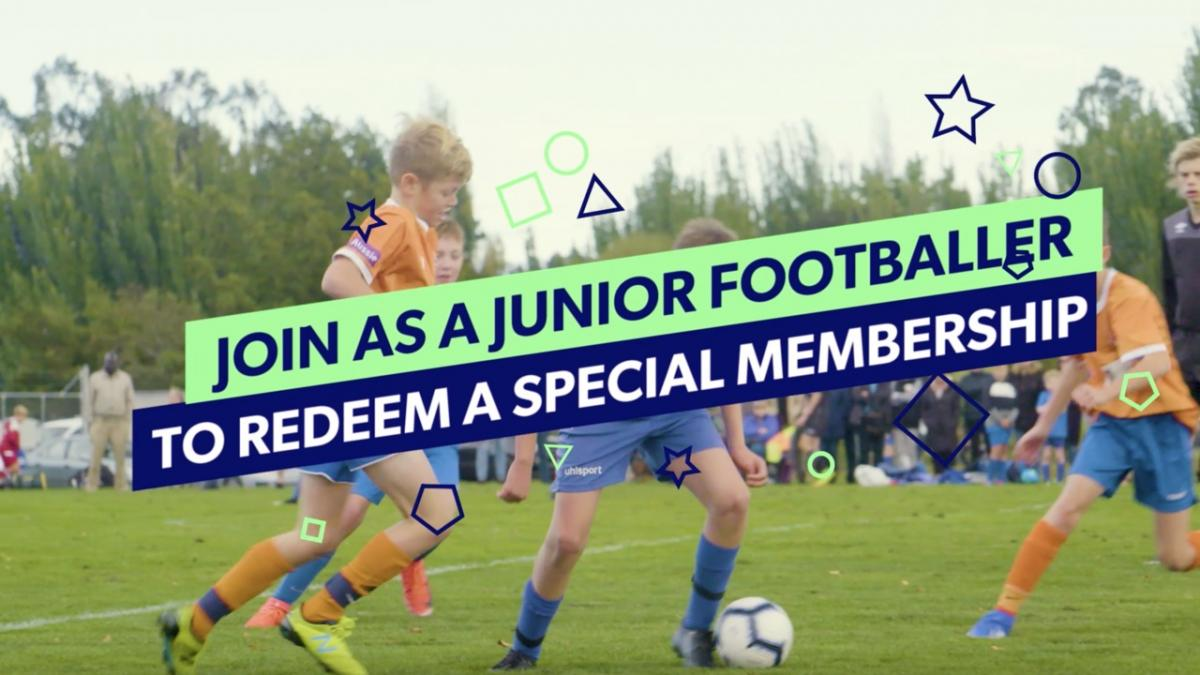 Leagues Junior Participant Membership Offer
