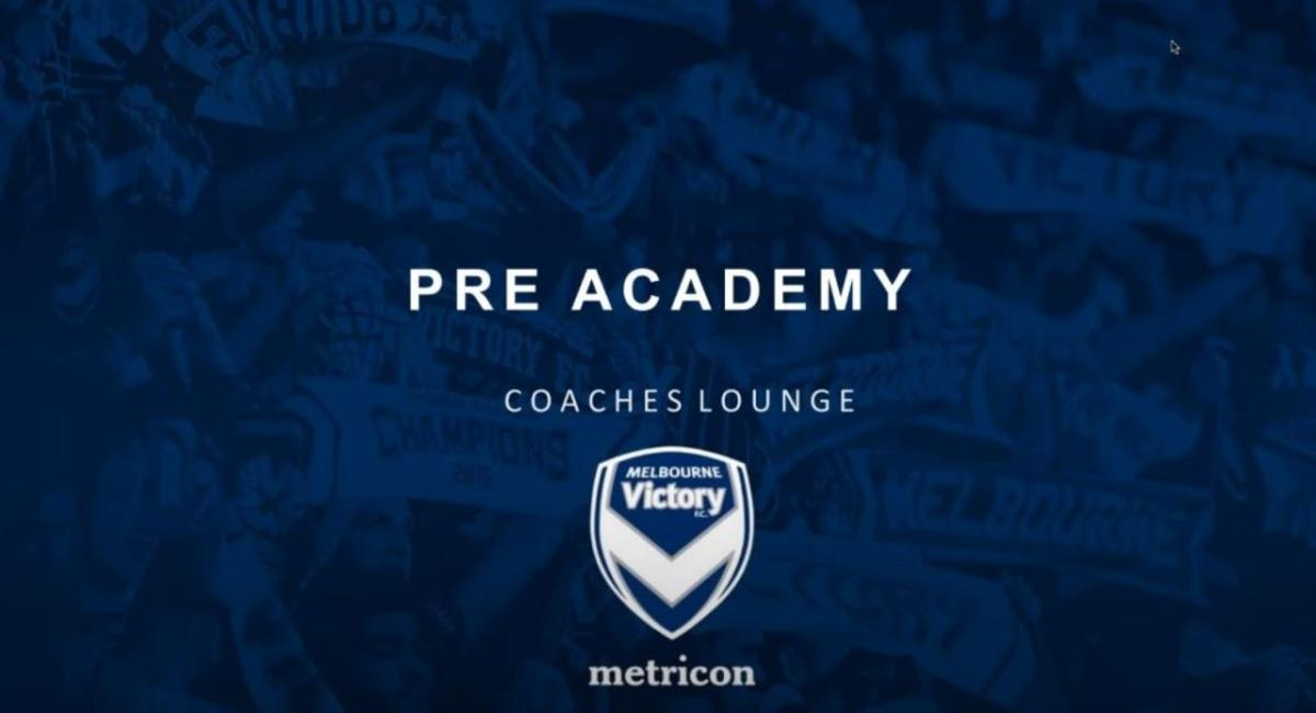 Pre Academy Coaches Lounge - Goalkeeping Edition by Melbourne Victory FC