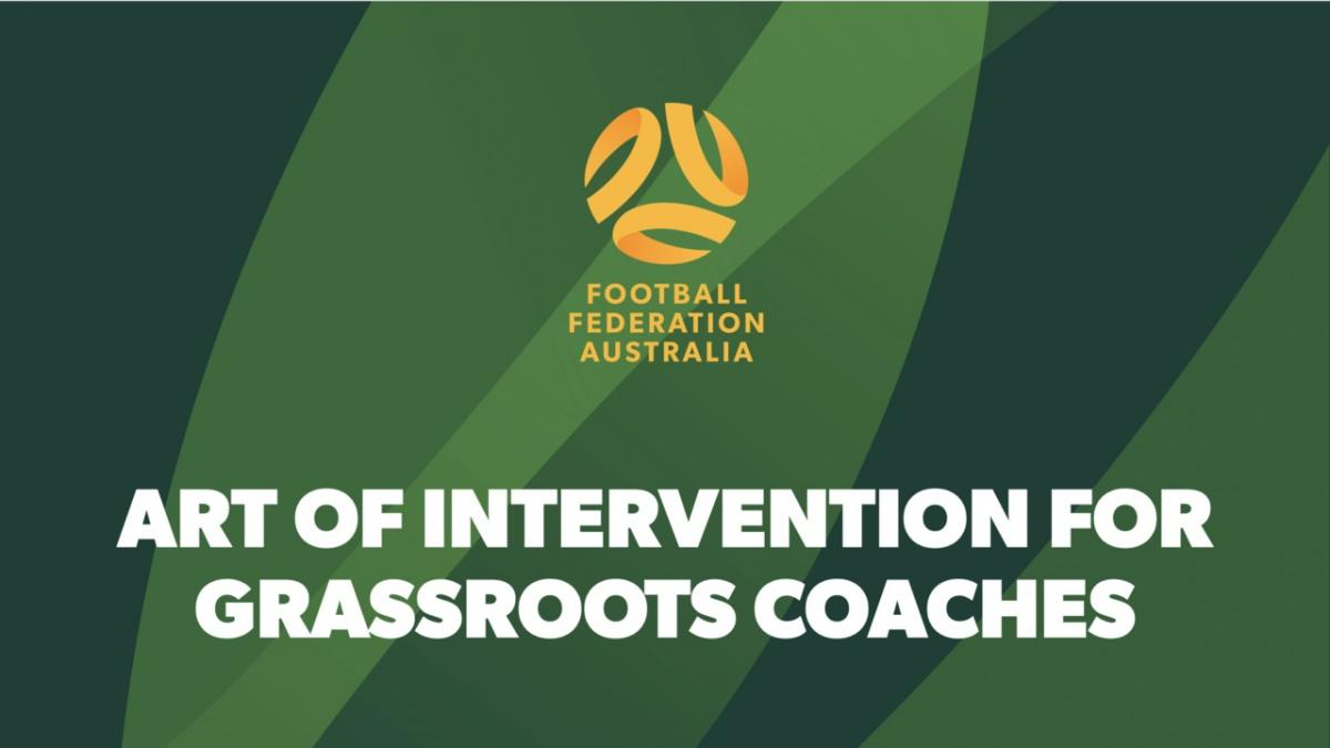 Intervention for Grassroots Coaches
