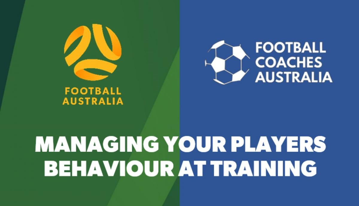 Managing Your Players Behaviour at Training