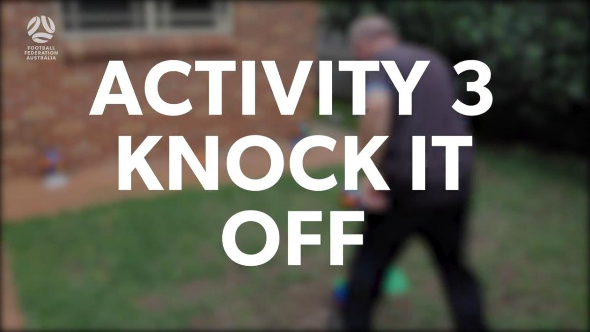 Walking Football - Challenge 3: Knock It Off