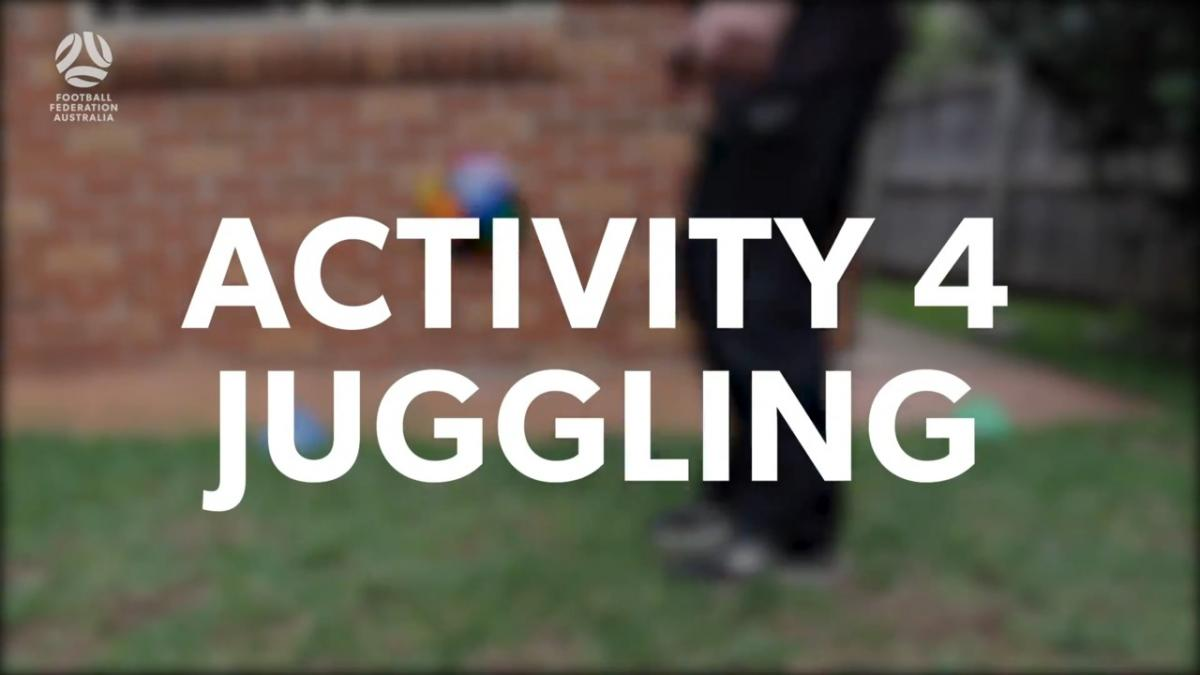 Walking Football - Challenge 4: Juggling