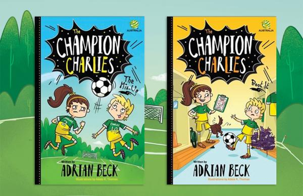 WIN one of five Champion Charlies book packs