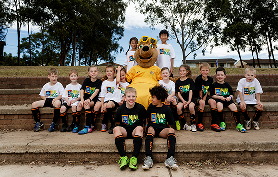 10,000 new players join football's ALDI MiniRoos program