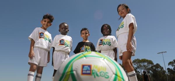 Five ways to keep your ALDI MiniRoos playing football this summer