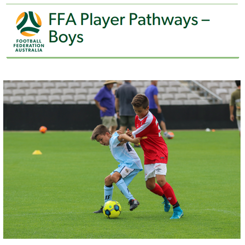 FFA Player Pathways - Boys
