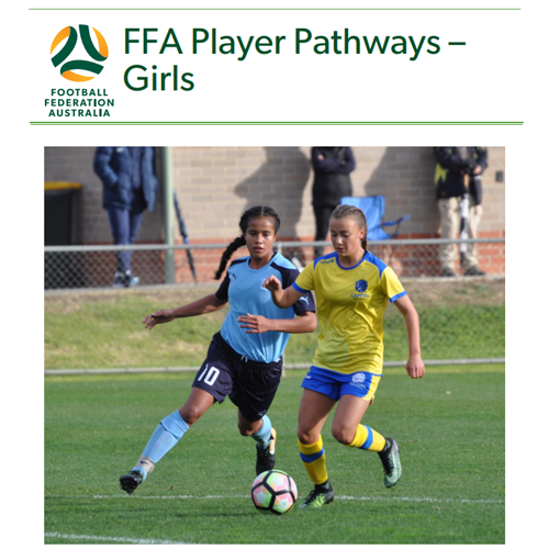 FFA Player Pathways - Girls