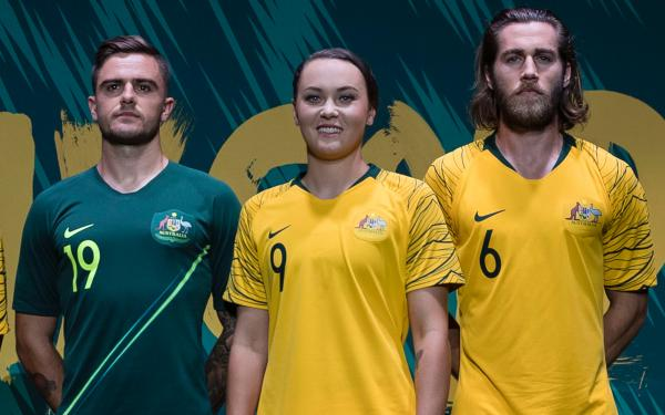 Socceroos Matildas Kit Designs