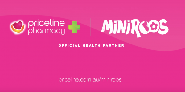 Priceline Pharmacy says thanks to parents of the MiniRoos